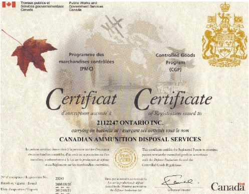 Click to see the CGC Certificate